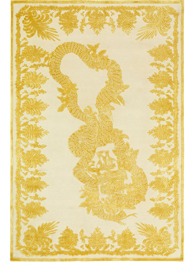 Military Brocade Ivory