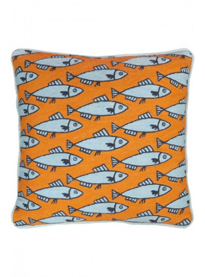 Подушка Anchovies Orange Cushion