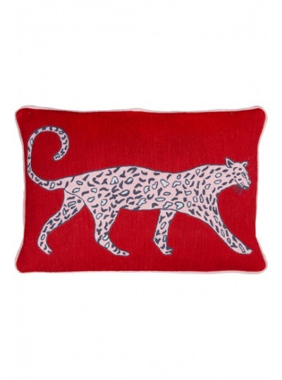 Подушка Leopard Ruby Cushion
